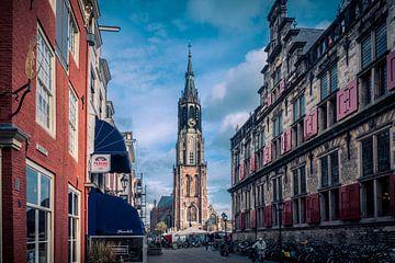 De nieuwe Kerk in Delft van