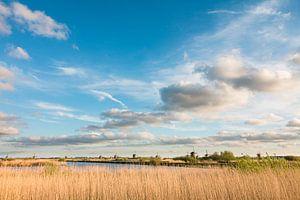 Wolkenpracht Kinderdijk van Mark den Boer