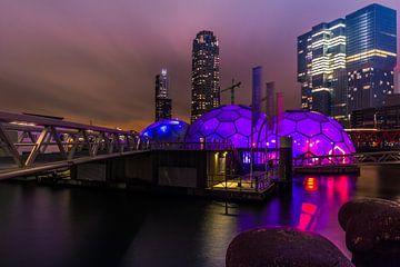 Paarse bolen Rotterdam sur Michael van der Burg