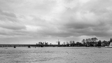 De IJssel bij Deventer (1) van Rob van der Pijll