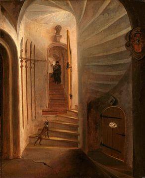 Portal eines Treppenturms, Egbert Lievensz. van der Poel