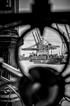 Duitsland, Hamburg, haven, vismarkt van Ingo Boelter