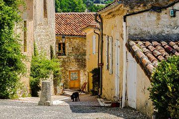 Typisch Frans straatje von Peters Foto Nieuws l Beelderiseren