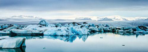 IJsmeer panorama von Sjoerd van der Wal