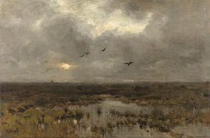 Der Sumpf - Anton Mauve