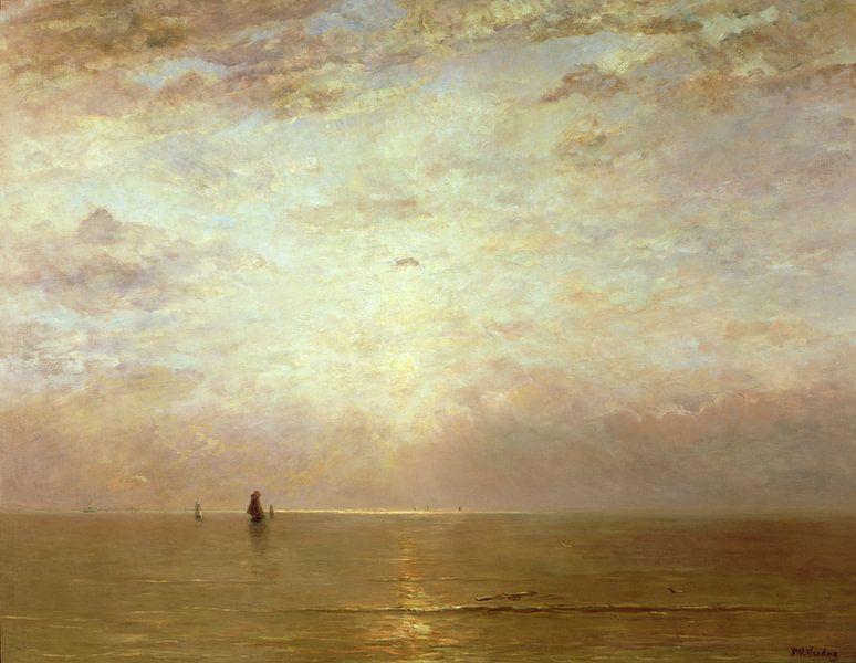 Sonnenuntergang, Hendrik Willem Mesdag von Bridgeman Masters