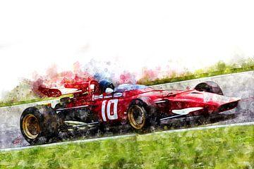 Jacky Ickx, Ferrari von Theodor Decker
