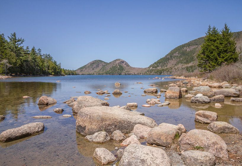 Acadia National Park: Jordan Pond van Dirk Jan Kralt