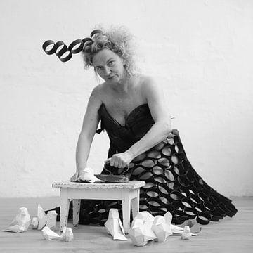 Papiervögel von Heike Hultsch