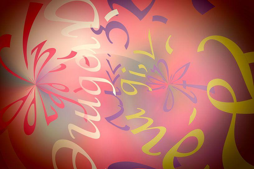 La danse des lettres van Martine Affre Eisenlohr