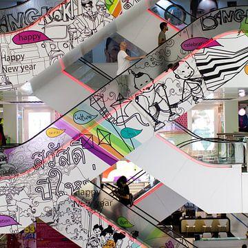 Stairway to Bangkok heaven von Anna Green