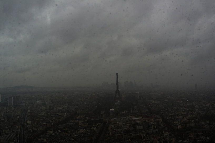 Parijs en Eiffeltoren van Erik Reijnders