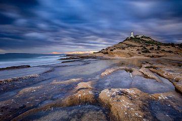 Lighthouse Cap de l'Horta van Henk Pijnappels