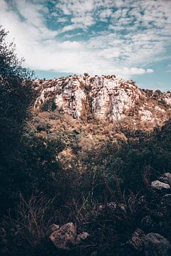 Landschap Sicilië, Italië, la cava dispica van DeedyLicious
