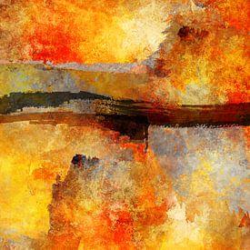 Sunset abstract von Andreas Wemmje