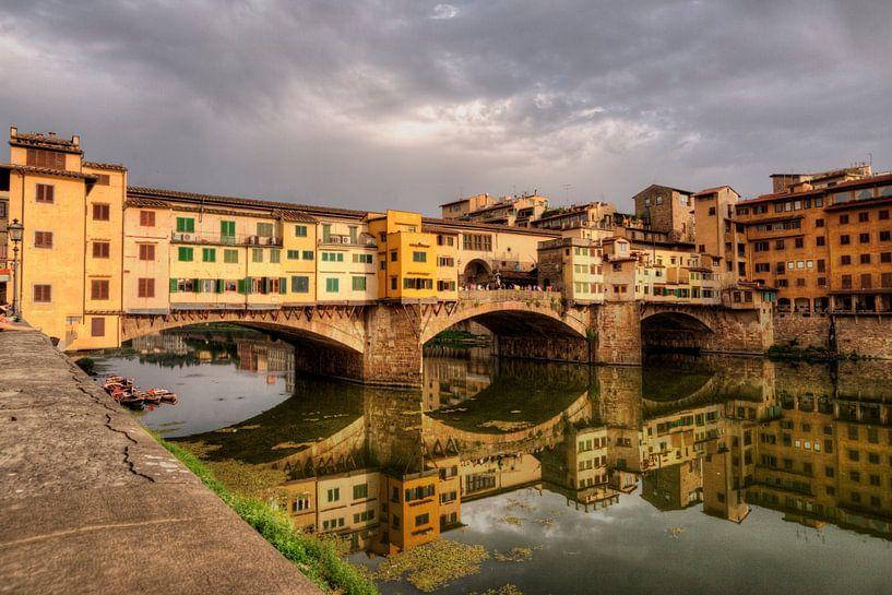 Ponte Vecchio, Florence, Italië van x imageditor