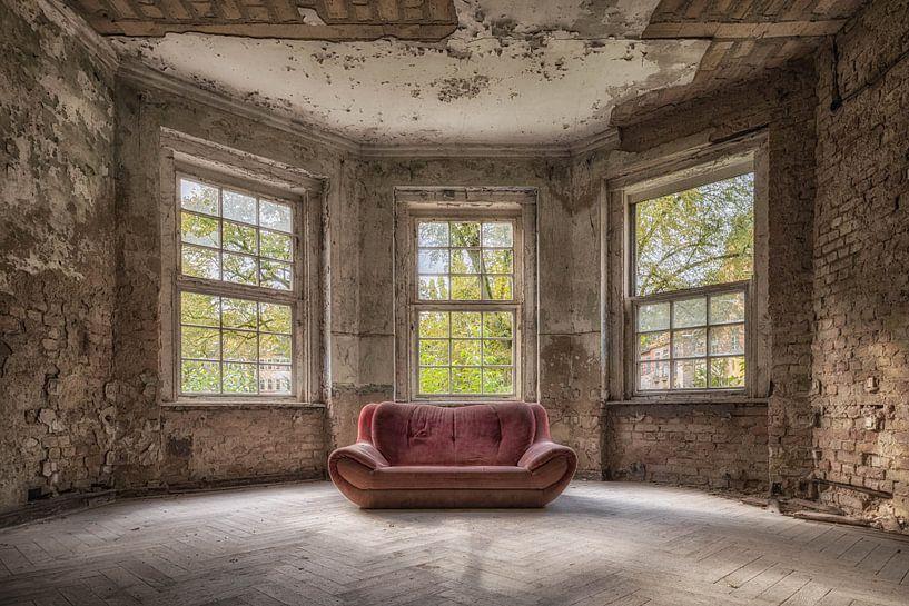 Das rote Sofa von Guy Bostijn