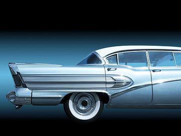US Amerikanische Oldtimer Super 1958 von Beate Gube