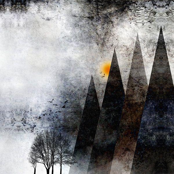TREES under MAGIC MOUNTAINS VIII-b
