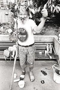 de bosjesman van Boedapest! van