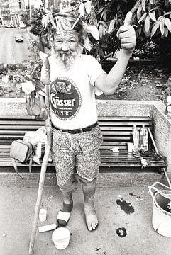 de bosjesman van Boedapest!