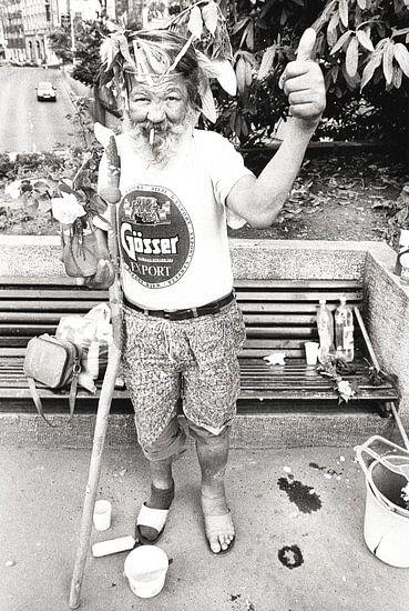 de bosjesman van Boedapest! van bob brunschot