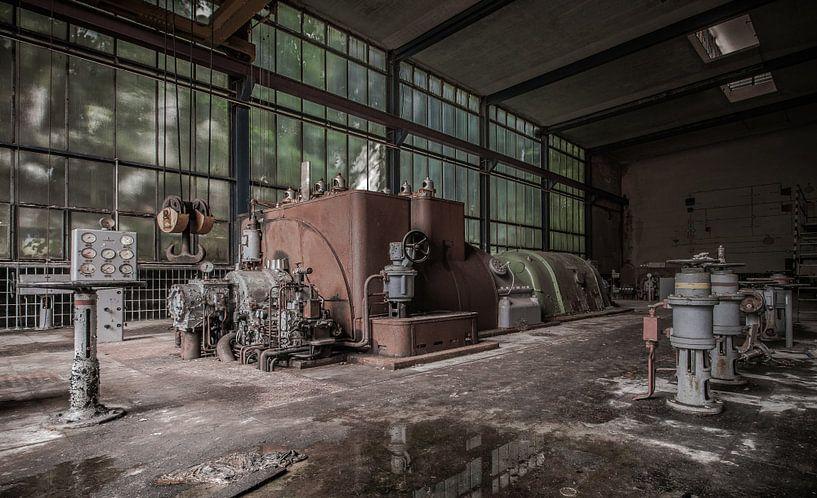 Generatorhal van Olivier Van Cauwelaert