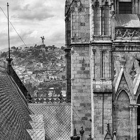 Basílica del Voto Nacional & El Panecillo van Bart Hendrix