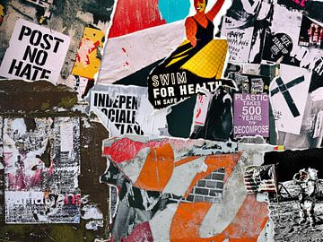 No Hate von Arte Muro