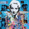 Motiv Marlene Dietrich - Dadaismus Nonsens van Felix von Altersheim thumbnail