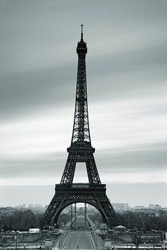Eiffelturm schwarzweiss von Markus Lange