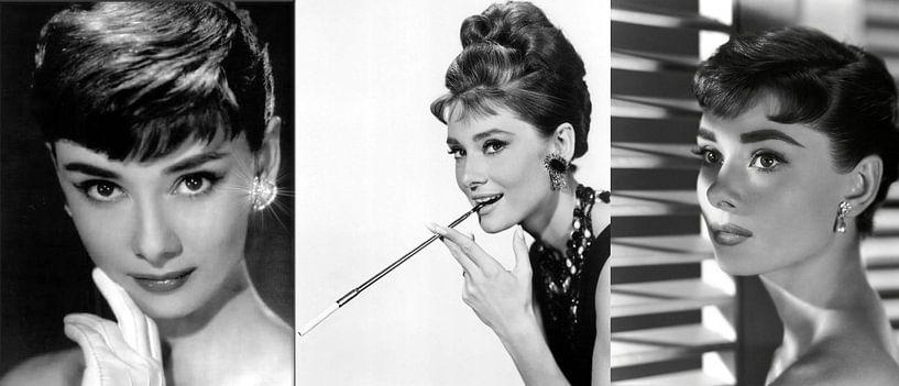 Audrey Hepburn Collage von Brian Morgan
