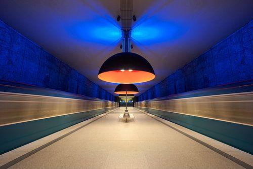 U-Bahn München von Bert Beckers