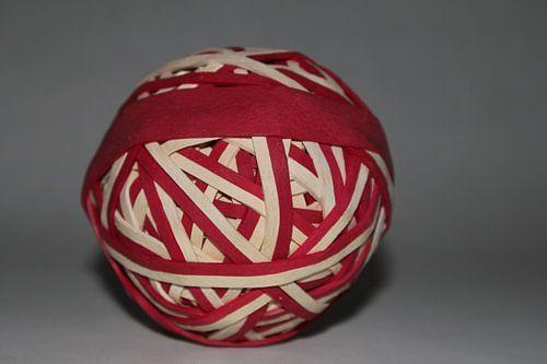 Ronde elastieken bal van UN fotografie