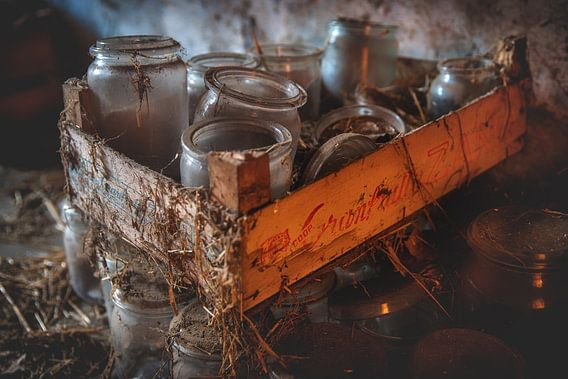 Oude potten van Steven Dijkshoorn