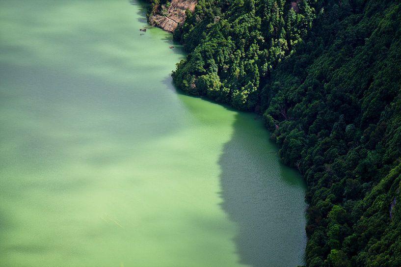 Grüne Lagune sur Jan Brons