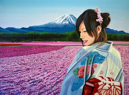 Spring in Japan von Paul Meijering
