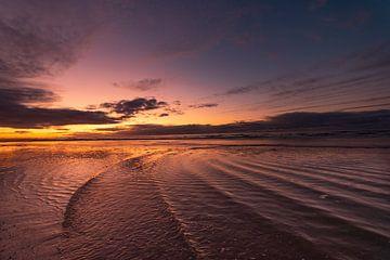 Flutwellen , Strandumgebung am Meer von Aldo Sanso