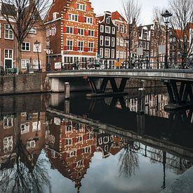 Amsterdam gracht,  Netherlands van Lorena Cirstea