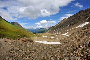 Schöne Aussicht in den Alpen von Peter Apers