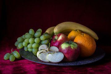 Stilleven vers fruit van Piertje Kruithof