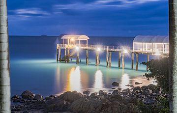 Pier in Airlie Beach, Qld Australien von Dave Verstappen