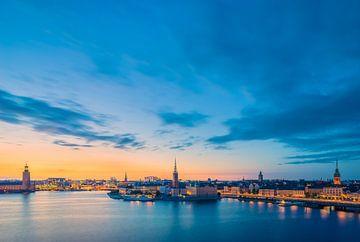 Stockholm am Abend von Tom Uhlenberg
