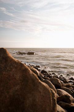 Steinstrand in Dänemark von David Heyer