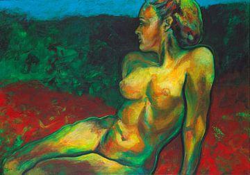 weibliche Akt in der Natur von ART Eva Maria