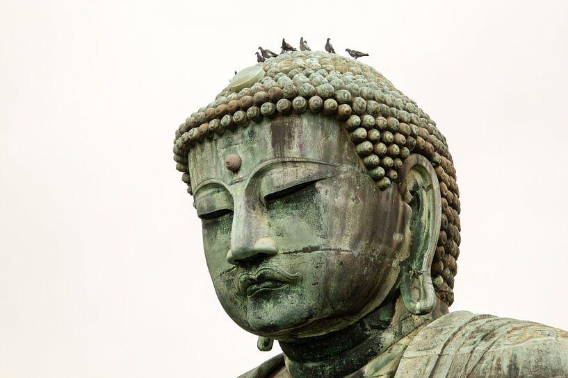 Boeddha beeld in Kamakura, Japan von Marcel Alsemgeest