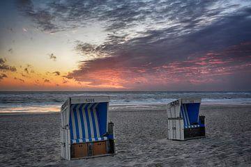 Evening with sunset van Joachim G. Pinkawa