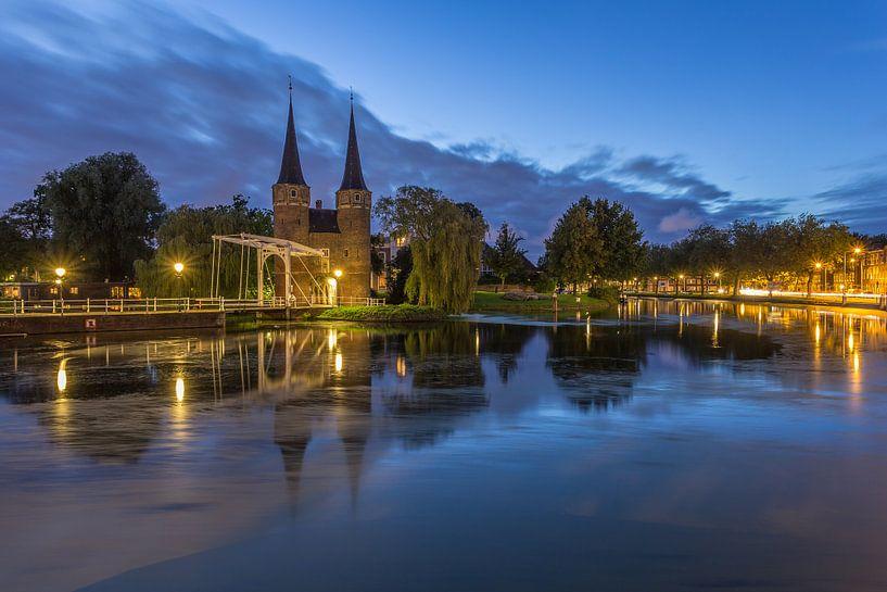 Oostpoort Delft in the Blue Hour - 1 van Tux Photography