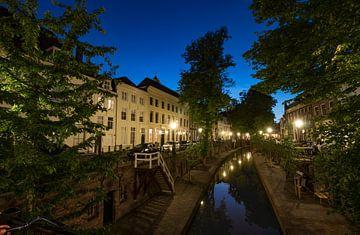 Nieuwegracht in Utrecht na Zonsondergang von Arthur Puls Photography