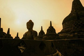 Indonesië - Borobudur van Joris Pannemans - Loris Photography
